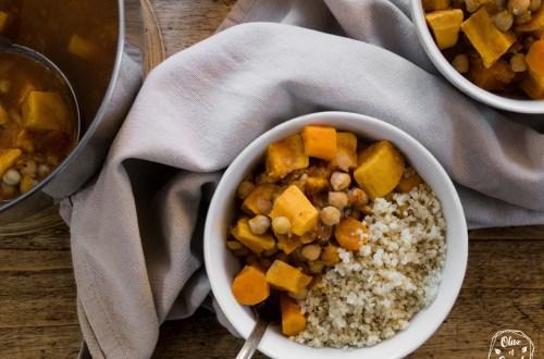 Curry Vegan Sans Gluten
