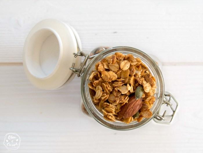 Granola Vegan Sans Gluten