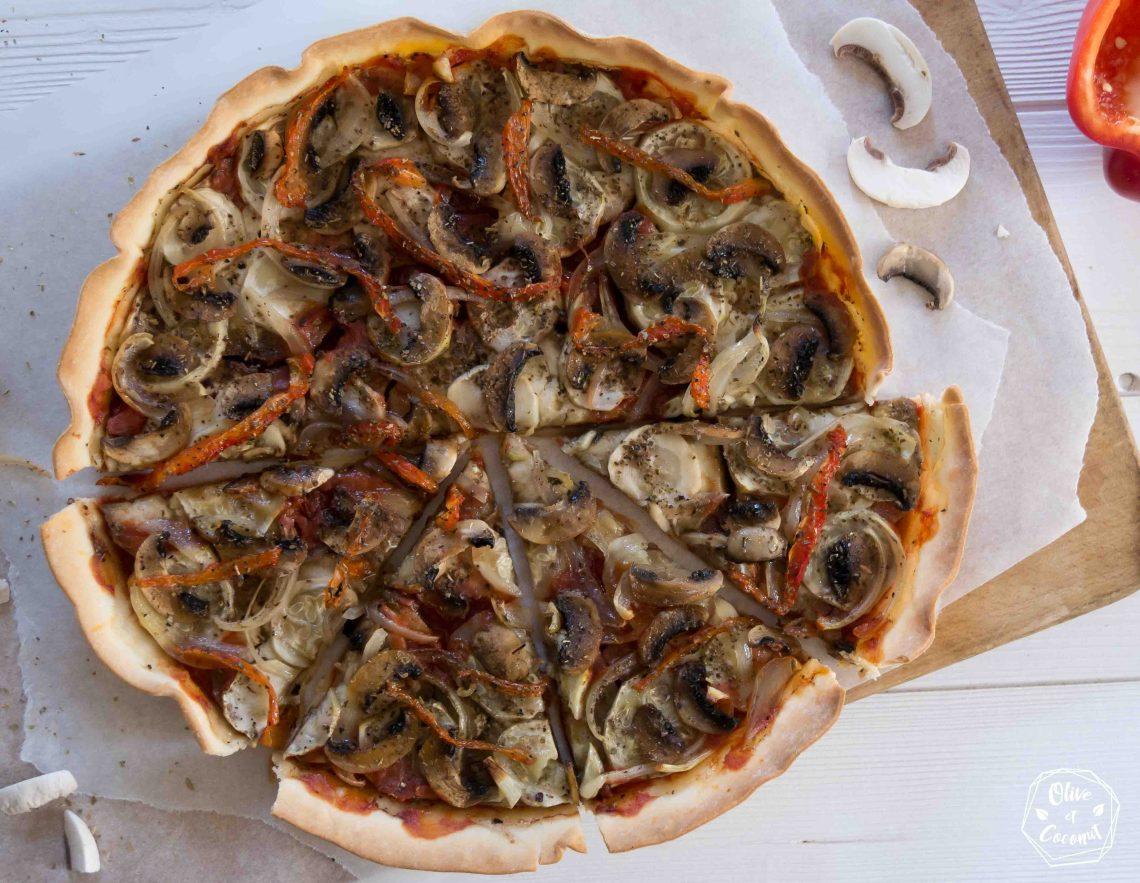 Pizza Vegan Sans Gluten