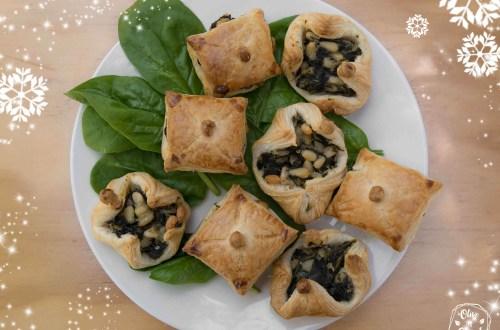 Feuilletés Noël Vegan Sans Gluten