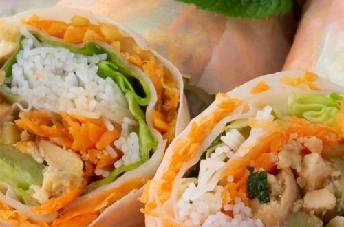 Rouleaux Printemps Vegan Sans Gluten