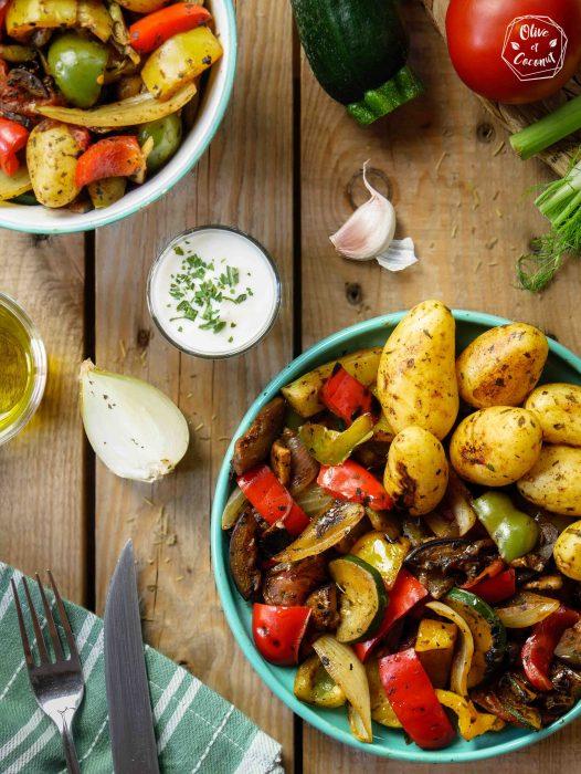 Barbecue Vegan Légumes Grillés