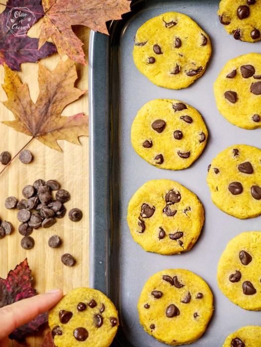 Biscuits Vegan Sans Gluten Courge
