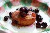 Financiers with Glazed Blueberries