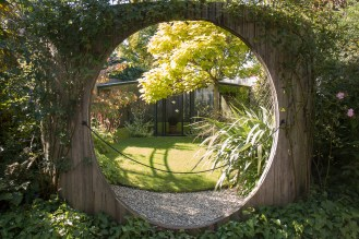 Contemporary Garden By Diarmuid Gavin. Photos from RHS Harlow Carr in North Yorkshire.