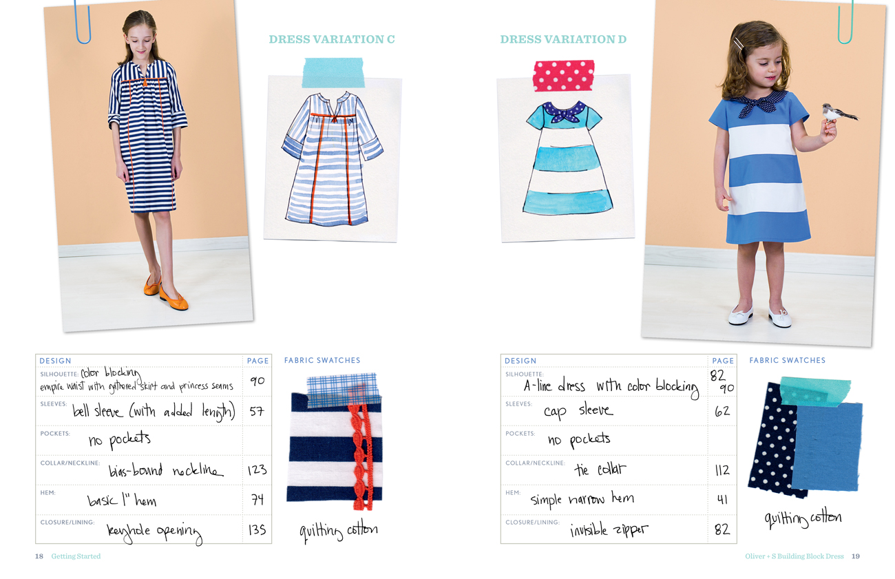 Introducing The Oliver S Building Block Dress Book