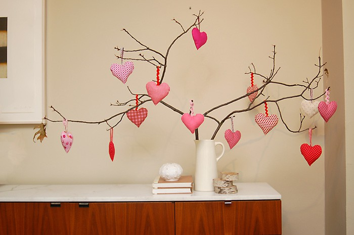 Valentine Day Heart Ornament Free Sewing Patterns