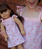 Oliver + S Popover Sundress and Doll Dress