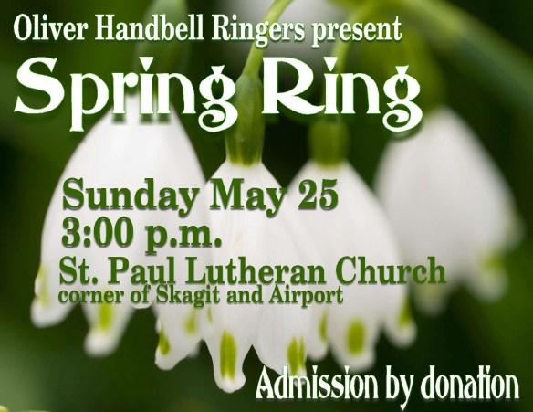 Handbells Spring Ring med