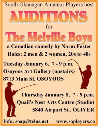 Melville Boys Audition - colour