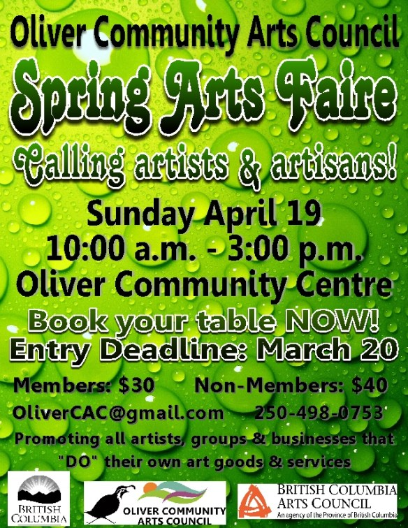 Spring Art Faire 2015 - Entry sm