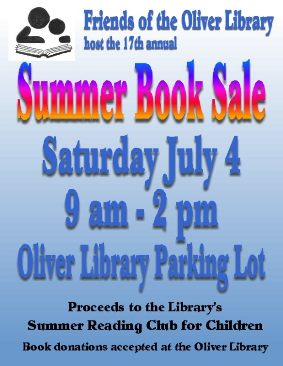 FOTOL Summer Book Sale 2015