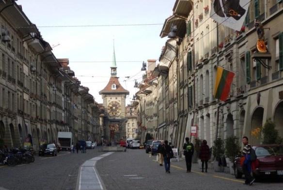 Reading in Berne, Switzerland, 1
