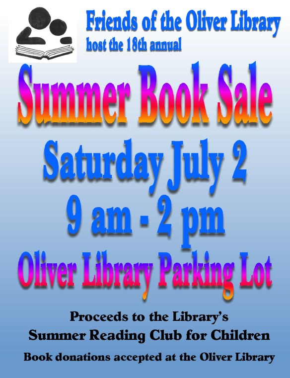 FOTOL Summer Book Sale sm