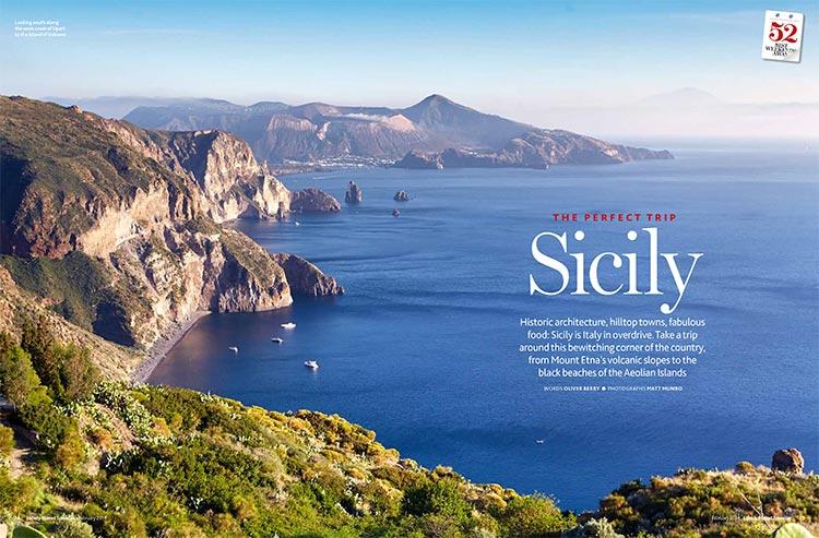 Lipari Aeolian Islands Sicily