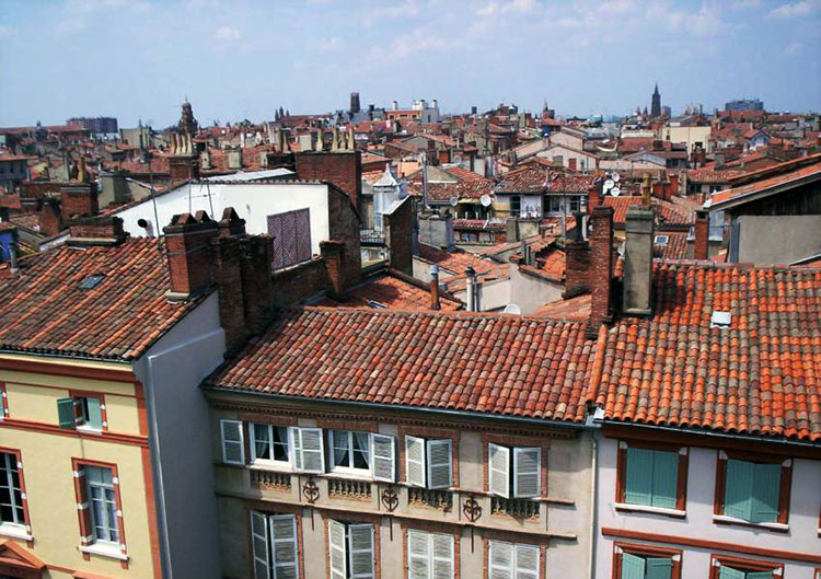 toulouse rooftops
