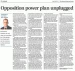 NBR - Opposition power plan unplugged