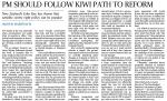 OH - PM should follow Kiwi path to reform 01-12-2014