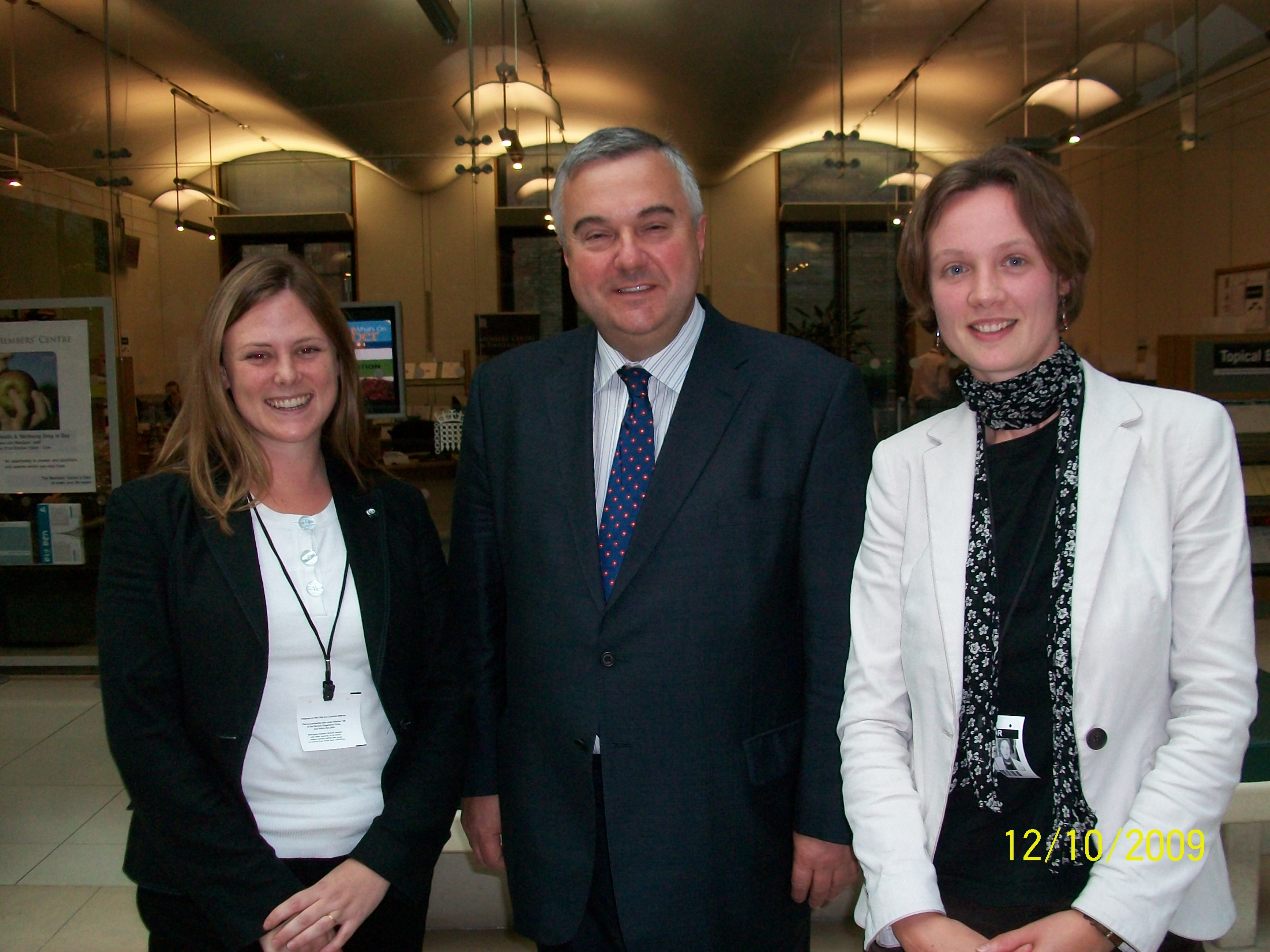 Me with Rose Timlett and Eva Groeneveld of the WWF