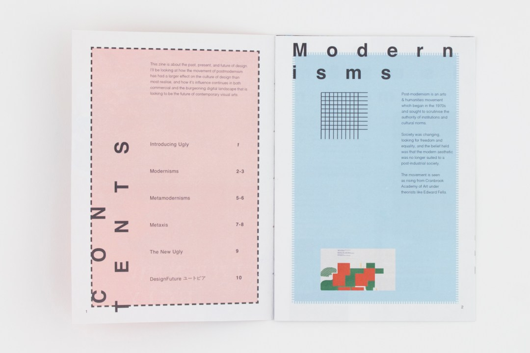 Metamodernism Zine 1
