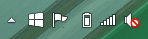 "The ""Get Windows 10"" icon"