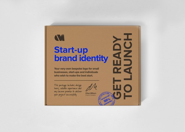 The start-up brand identity design package by Oliver Milburn