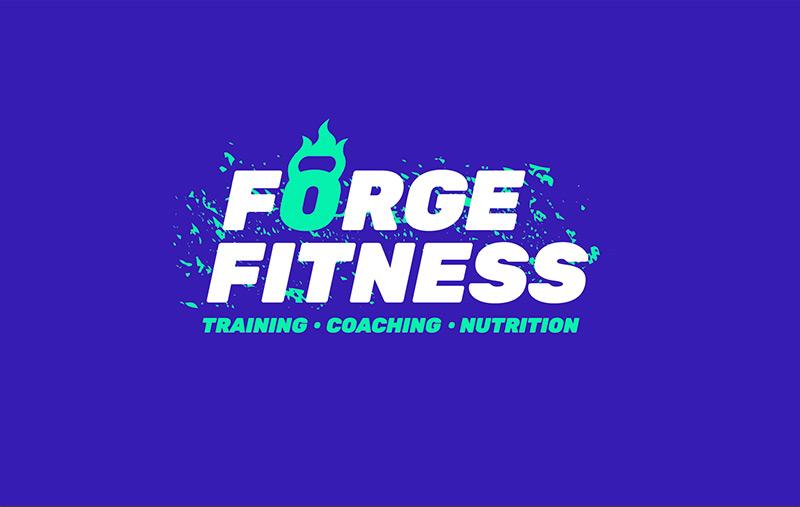 Forge Fitness logo design concept