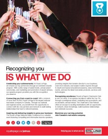 Royal LePage South Country Recognizing You