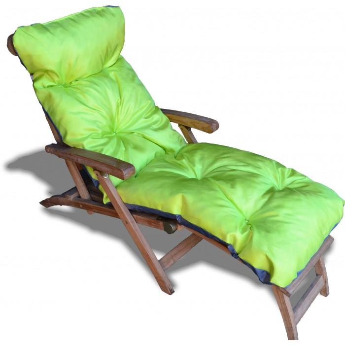 coussin bain de soleil en coton 180 60 12 cm ideal resistant au soleil