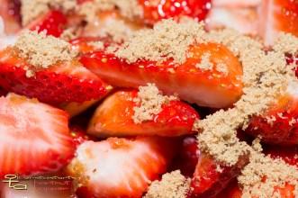 Erdbeeren mit Muscovado