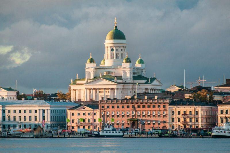 Helsinki katedralen, Helsinki, Finland