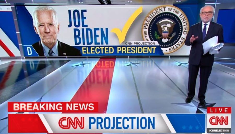 CNN Declares Joe Biden Win - 2020