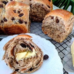 Fruit Hot Cross Buns