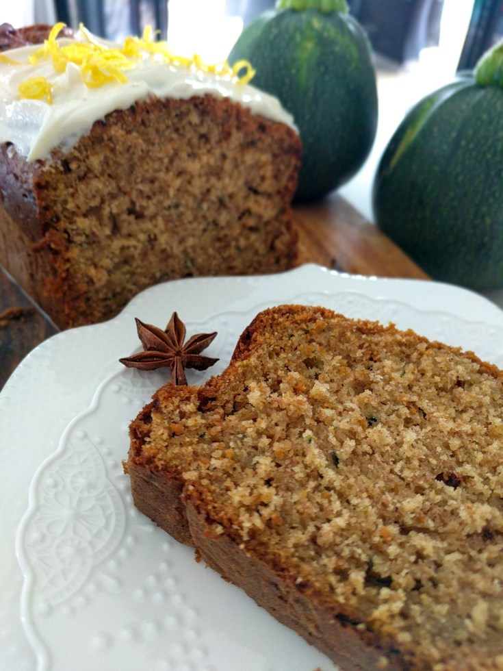 Aromatic Zucchini Loaf | a superbly moist cake