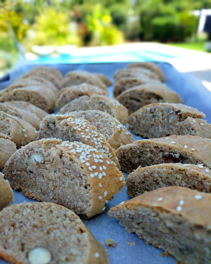 greek paximadia παχιμαδια υγεινα are a twice baked traditional biscotti