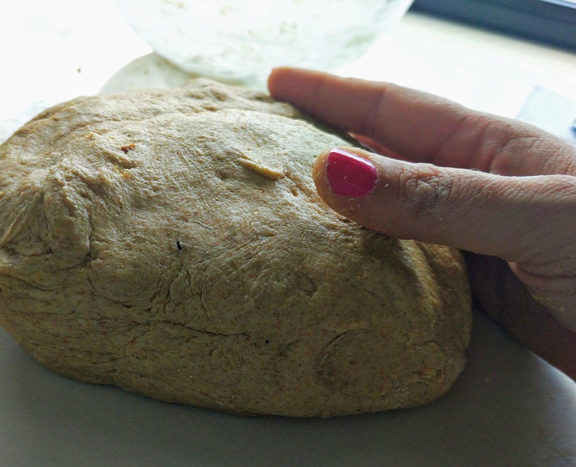 Spelt and Buckwheat Paximadia Dough