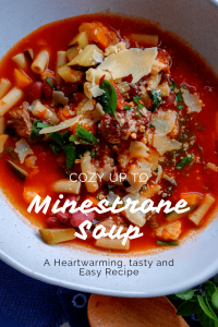 italian minestrone soup printable recipe