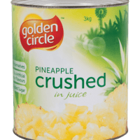 Golden Circle Crushed Pineapple in Juice A10/3kg | Food Service