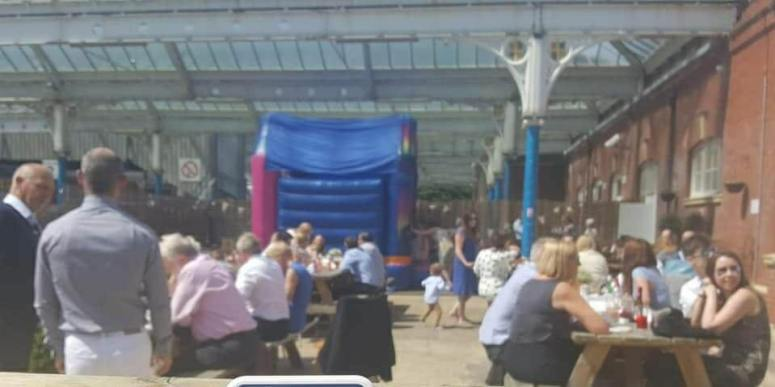 Venue Hire Whitley Bay, Birthdays, Christenings, Bouncy Castles, Olives at the Station