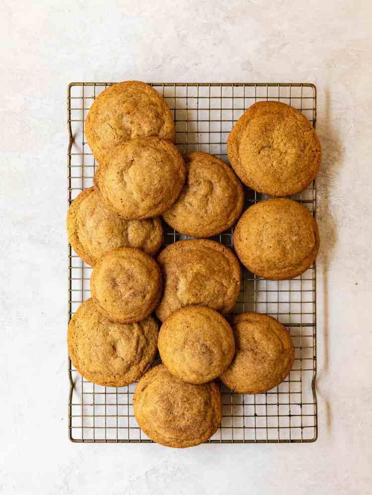cheesecake filled pumpkin spice sugar cookies