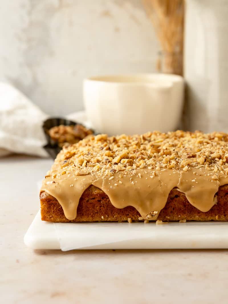 banana bread snack cake