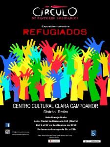 Exposición Itinerante Refugiados Centro Cultural Clara Campoamor