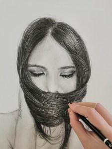 """La Esperanza"" Lápiz sobre papel Canson 130gr A3"