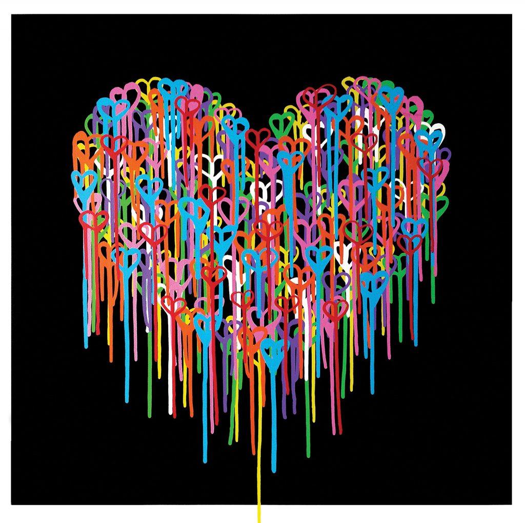 Waleska Nomura - Heart in Love Black
