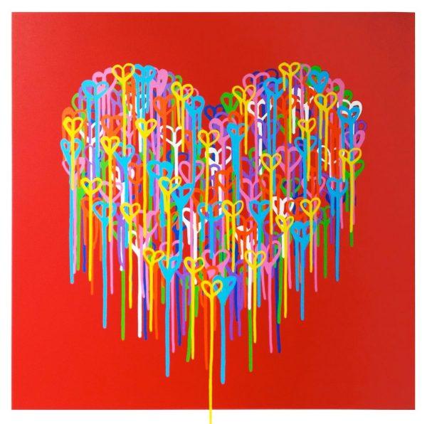 Waleska Nomura - Heart in Love Red
