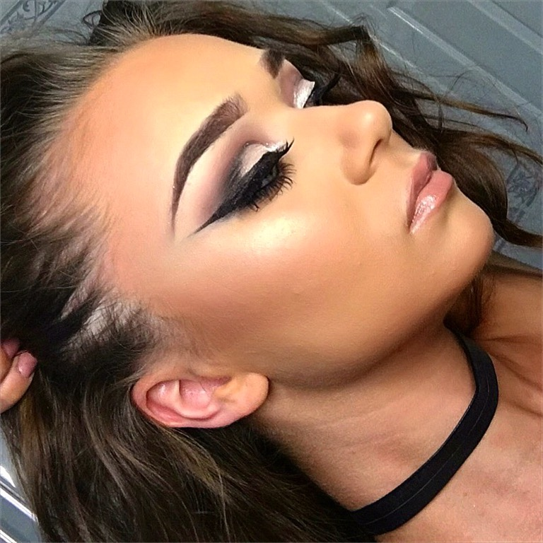 Sharp Eye Makeup