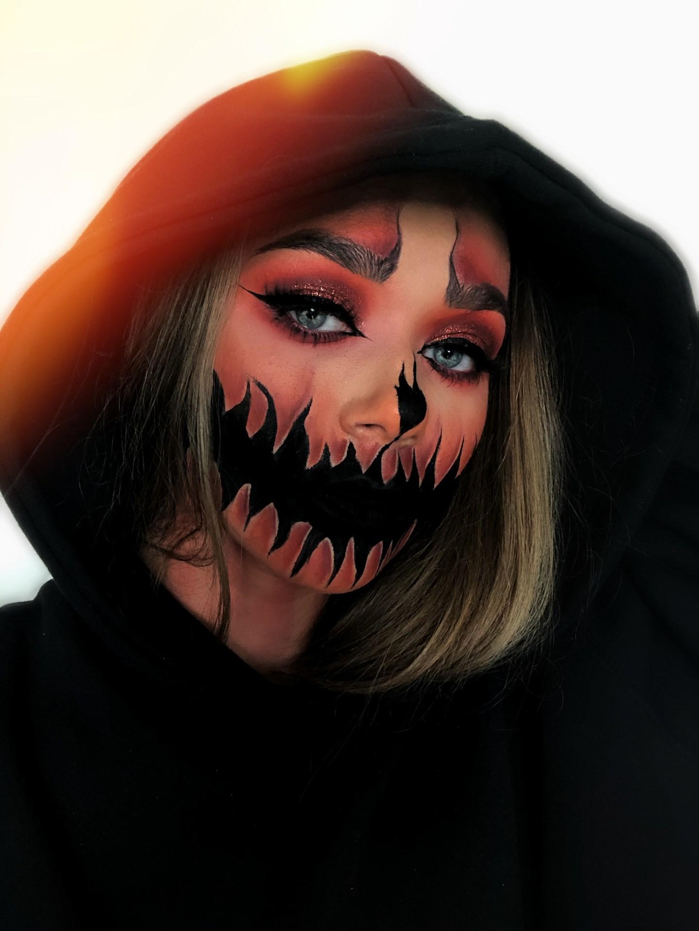 halloween makeup oliviafmakeup