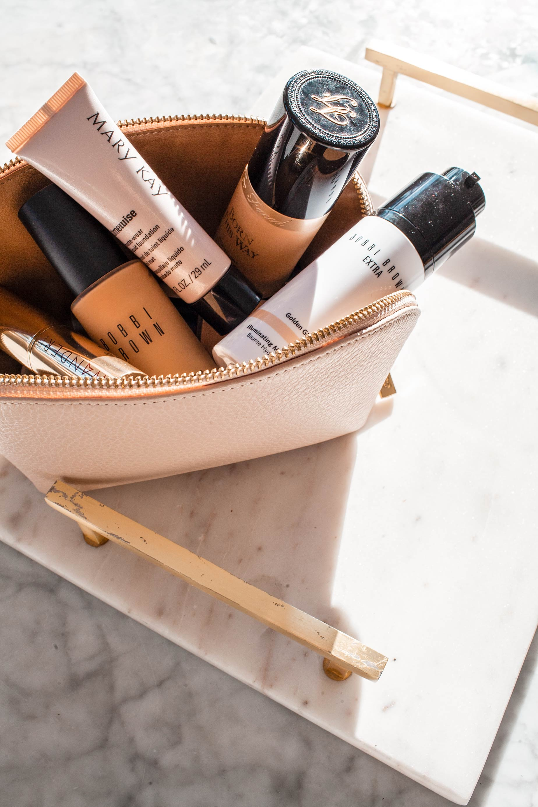 Mary Kay Mineral Makeup Roll Bag