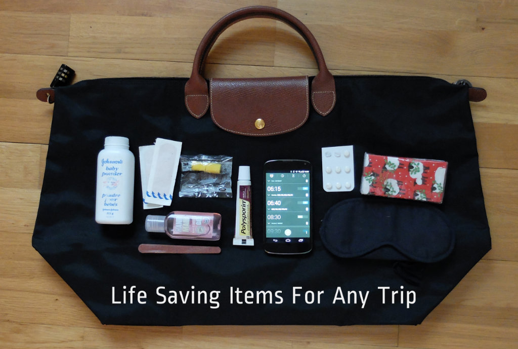 Life Saving Items for Any Trip   www.olivialeaves.com