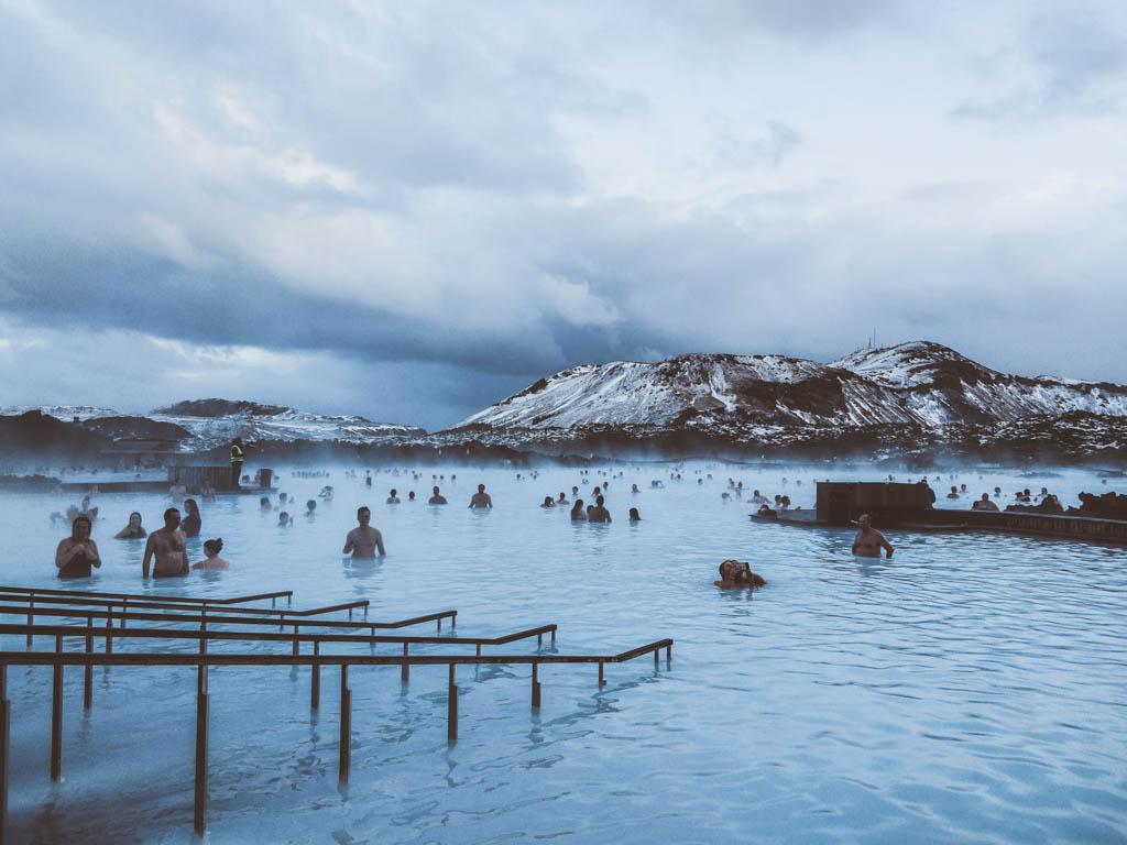 Olivia Leaves | Iceland Blue Lagoon